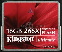 Abbildung Kingston CompactFlash Ultimate 266x